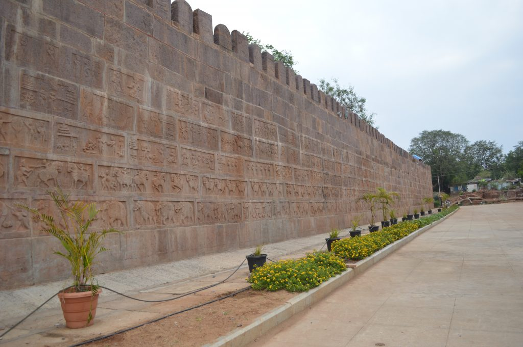 fortress-wall North Side
