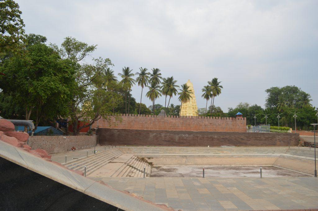 Pushkarani or SnanaGhat